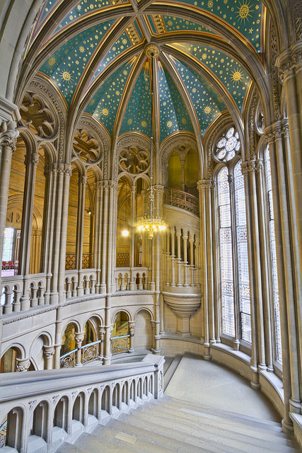 Manchester Town Hall Staircase